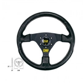 OMP steering wheel Racing GP SKY Branches Black Anodized Black