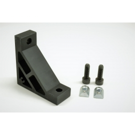 Color reinforced brackets with screws
