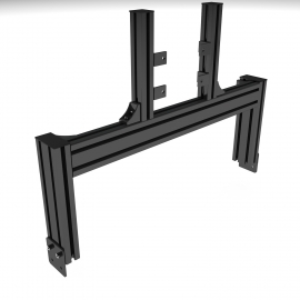 Black support, single junction screen 19 à 49""