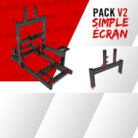 Pack new V2 simple écran jonction 19 à 49""