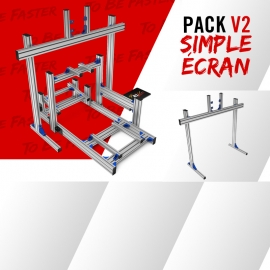 Pack New V2 Single screen support on feet 19 à 49""