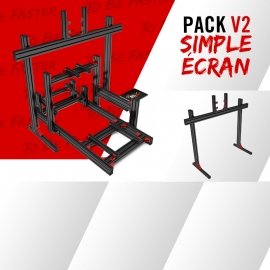 Pack new V2 single sreen support junction 19 à 49""