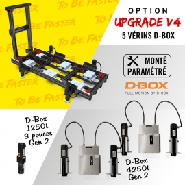 V4 frame D-Box full motion