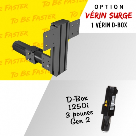 D-Box 1 actuators 1250i GEN2 3 pouces Surge