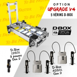 "Frame V4+ and 4 actuators 1,5"" 4250i and 1 actuator 3"" 1250i (surge)"