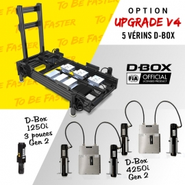 V4+ frame D-Box full motion