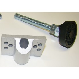 SET- Rotary Adjustment Foot + Post-mounting screws