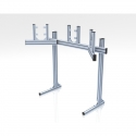 Supports single and triple screens 19-42 inches